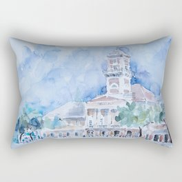 City hall in Sombor Rectangular Pillow