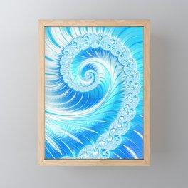 Frozen Vortex Framed Mini Art Print