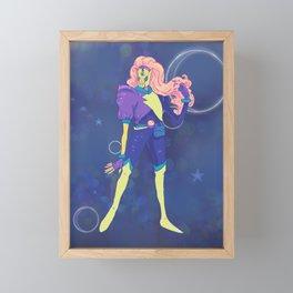 Art: Outer Space Baby Framed Mini Art Print
