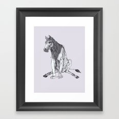 The Leucrota Framed Art Print