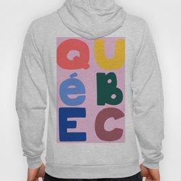 Mod Quebec Travel Poster Hoody