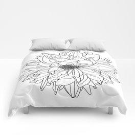 Dahlia 1 Comforters