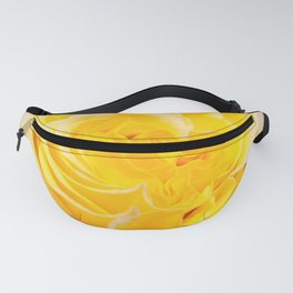 A Touch of Yellow #Rose #1 #art #society6 Fanny Pack