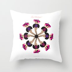 Love Burlesque! Throw Pillow