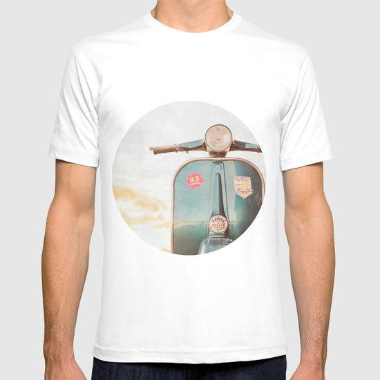 The Blue Vespa T-shirt