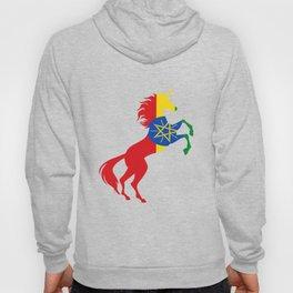 Unicorn Ethiopia Flag Magical Unicorn Ethiopian Hoody