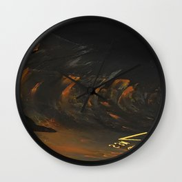 Spar Abstract Wall Clock