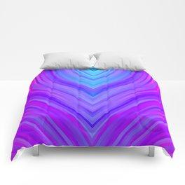 stripes wave pattern 3 sm120i Comforters