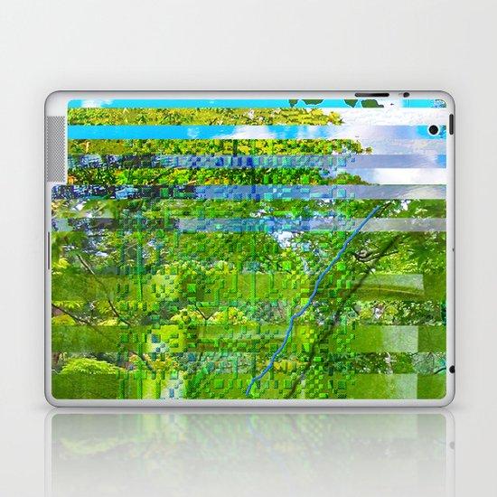 Landscape of My Heart (segment 1) Laptop & iPad Skin