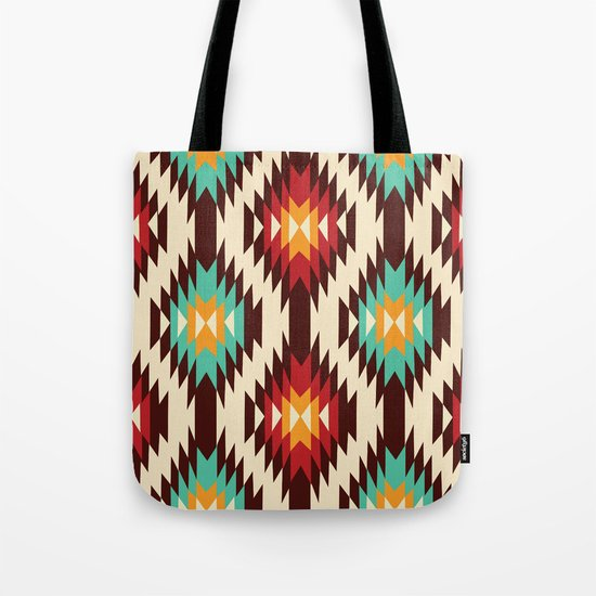 American native Pattern No. 19 Tote Bag