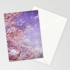 Dream of Pink Blossoms Stationery Cards