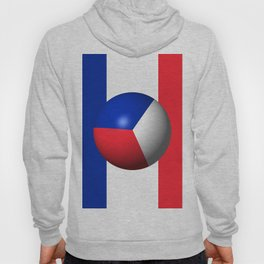 France Flag Sphere Hoody
