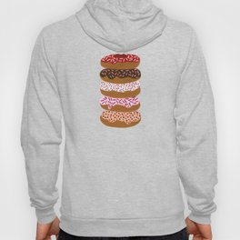 Stacked Donuts on Yellow Hoody