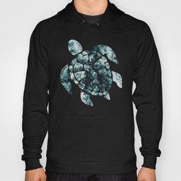 Sea Turtle - Turquoise Ocean Waves Hoody