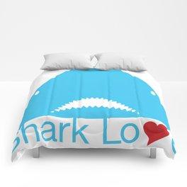Shark Love Comforters