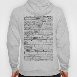 Withe brick wall Hoody