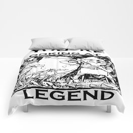 You're Looking At A Legend St Patricks Day Clurichaun Comforters