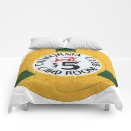 California Club - Casino Chip Series Comforters
