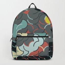 Abstract Geometric Artwork 88 Backpack