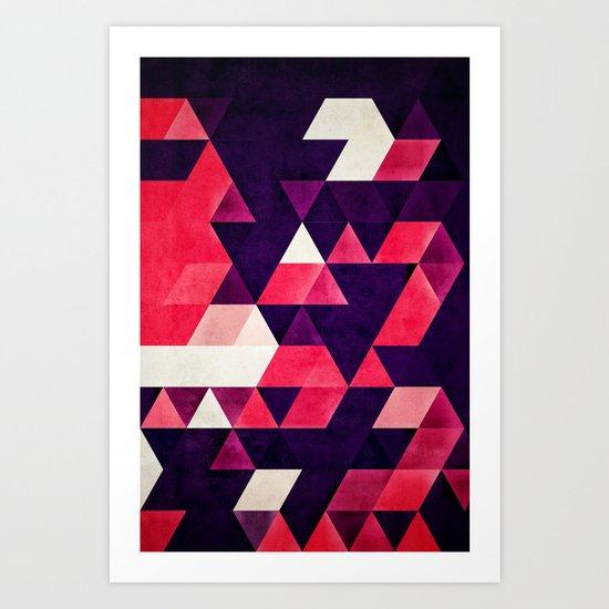 cyrysse lydy Art Print