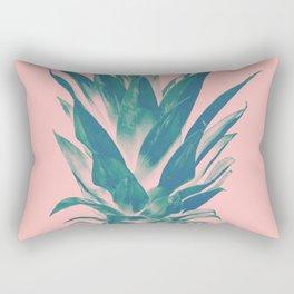Blush Pineapple Dream #3 #tropical #fruit #decor #art #society6 Rectangular Pillow