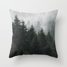Waiting For Throw Pillow