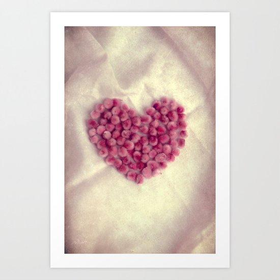 Je t`aime..II Art Print
