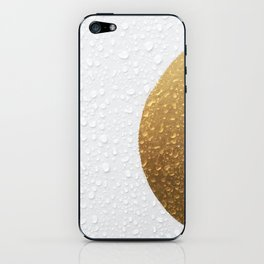 Gold iPhone Skin