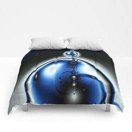 Bubbling globular fractal Comforters