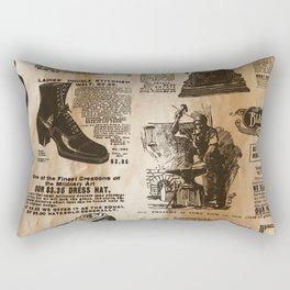 Old Vintage Advertising Part 2 Rectangular Pillow