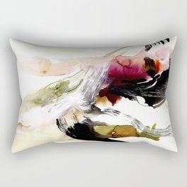 Day 12: To appreciate the imperfections that accompany beauty is the be close to nature. Rectangular Pillow