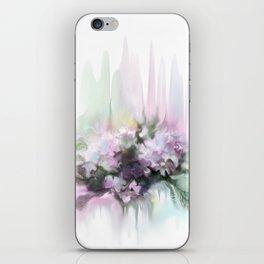 lilac2 iPhone Skin