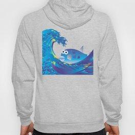 Hokusai Rainbow & Globefish  Hoody