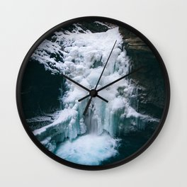 Icy Floes Wall Clock