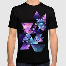 cosmos  Mens Fitted Tee Black LARGE