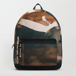 Clumsy Great Egret Backpack