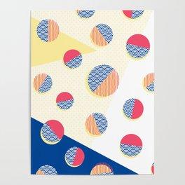 Japanese Patterns 01 Poster