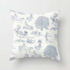 Shire Toile Throw Pillow