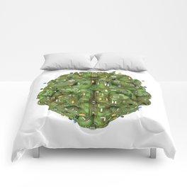 Circuit brain Comforters