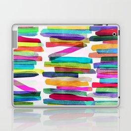 Colorful Stripes 5 Laptop & iPad Skin