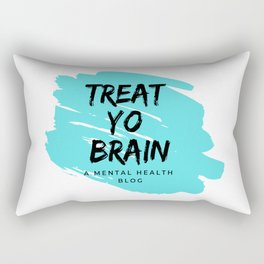 Treat Yo Brain Logo Rectangular Pillow