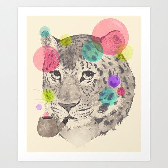 leopard changes his spots Art Print