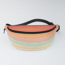 Rainbow Chevrons II Fanny Pack