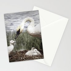 Tom Feiler Swan and her Cygnets Stationery Cards