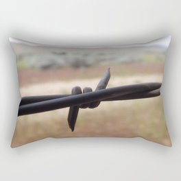 Don't Fence Me In Rectangular Pillow