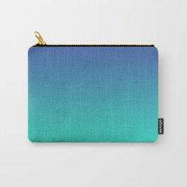 LUSH COVE - Minimal Plain Soft Mood Color Blend Prints Carry-All Pouch