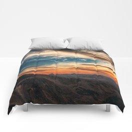 Utah Mountain SkyUtah Mountain Sky Comforters