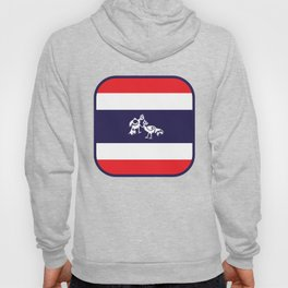 Thailand Flag, Roosters Sparring Hoody
