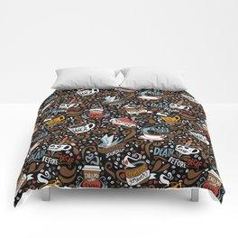 Brewed & Tattooed Comforters