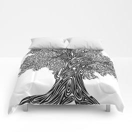 Gnarled Oak Tree Comforters